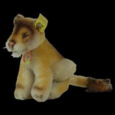 1950's Steiff Lea Lion Near Mint