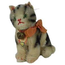 1950's Steiff Susi Cat with Red Lettering Tag