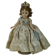 1950's Madame Alexander Queen Doll