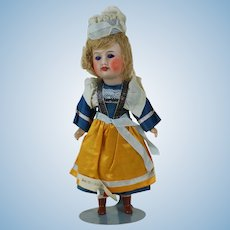 1910's French Souvenir Doll Near Mint