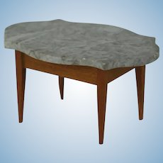 Early 20th Century Marble Topped Dollhouse Table