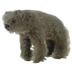 Early 1900's to 1910's Steiff Standing Teddy Crib Toy