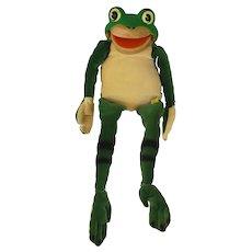 1960's-70's Steiff Rubber Headed Frog