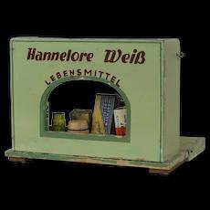 1910's Hannelore Weib Lebensmittel Wooden Storefront Playset