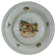 1905 Roosevelt Bear Royal Baby Plate