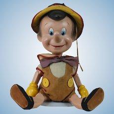 1940's Knickerbocker Disney's Pinocchio Doll