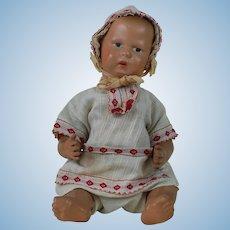 1911 Schoenhut Wooden Baby Doll