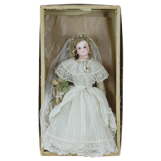 1890's-1900's Francois Gaultier FG Doll in Box