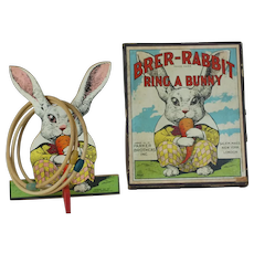 1921 Parker Brothers Brer-Rabbit Ring a Bunny Game