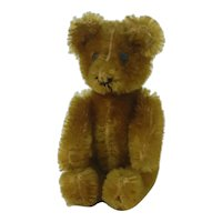 "1950's 3 1/2"" Two Face Apricot Janice Teddy Bear"