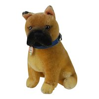 "1950's Steiff ""Boxer"" Dog Plush"