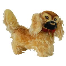 "1950's Steiff ""Peky"" Dog Plush"