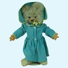 1960's Dressed Teddy Plush