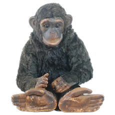1950's Dean's Childsplay Toys Real Looking Chimp