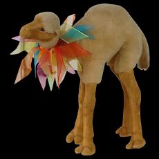 1950's Large Sized U.S Zone Germany Camel Plush