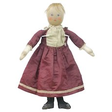 1900's Babyland Painted Face Rag Doll