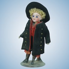 Early 20th Century Small German All Bisque Doll