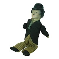"1920's Trade ""Gee"" Mary Charlie Chaplin Tumble Toy"