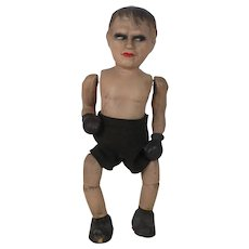 1930's Max Schmeling Mechanical Boxing Doll