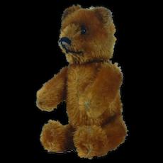 """1950's Schuco 5"""" Cinnamon Teddy Bear"""