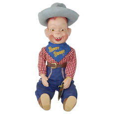 1950's Howdy Doody Toy Doll by Effanbee in Box