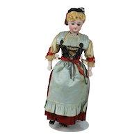 "Late 1800's 13"" Simon Halbig Original Factory Doll"