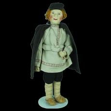 1937 Russian Leningrad Cloth Doll