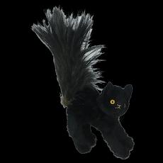 1930's English Scaredy Black Cat Plush