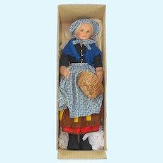 1920's Norah Welling Large Old Lady Felt Doll
