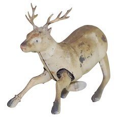 1920's Tin Wind-up Reindeer