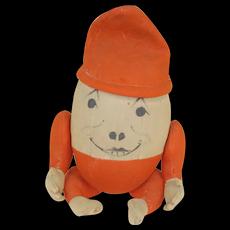 Late 1800's Humpty Dumpty Doll