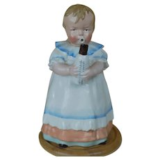 Antique German Austrian Bavarian Figural BABY Coffee, Chocolate Pot,