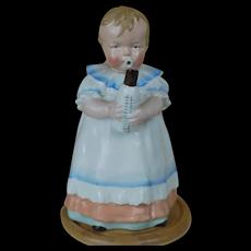 Antique German Austrian Bavarian Figural BABY Coffee, Chocolate Pot,