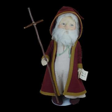 R.John Wright Saint Christopher Doll Santa Claus Kris Kringle