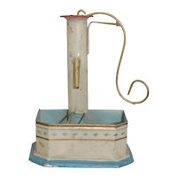 German Tin Possibly Marklin Toy Well Pump or Water Pump
