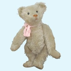Exquisite Early White 12 inch American Aetna Teddy bear