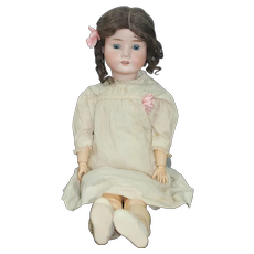 """All original 24"""" German Bisque  """" Pansy """" Doll"""