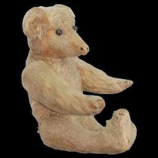 Early German Teddy bear Shoe button eyes. Bing Strunz? Nice