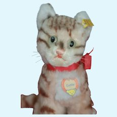 Mint 9 inch Steiff Cattie Full ID Too Cute