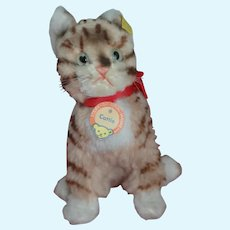 Great Mint8 inch  Steiff Cattie Full ID