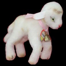 Mint Cutest little 1950s Steiff Wool Plush Lamby All ID