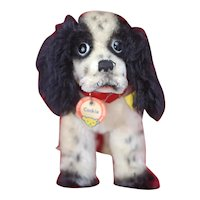 Super Cute Vintage Mohair Steiff Cocker Spaniel Dog Cockie with All ID's