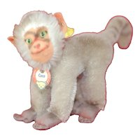 Rare Earliest Model Steiff Coco Baboon All ID Famous Red Bottom