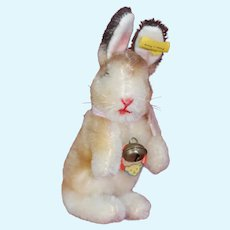 Steiff  smallest size Manni Begging Rabbit Hase Bunny All IDs