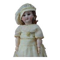 "Beautiful 16"" Kley and Hahn 250 Walkure German Doll all original attic Find"