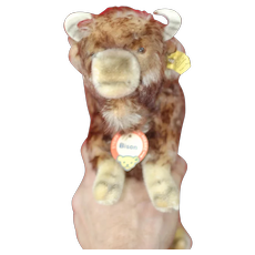 Near Mint 1950s Steiff Bison 9 inches  All ID
