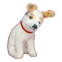 "1960s STEIFF Victrola Advertising Dog "" Nipper"" Rare"