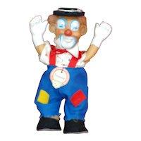 """Perfect 4.5"""" 1950s Steiff Clownie All ID"""