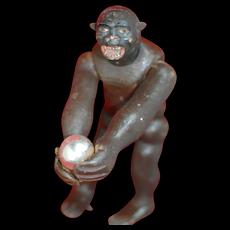Rare Early Schoenhut Gorilla of Teddy Roosevelt Safari