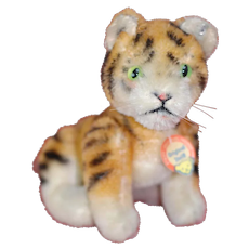 Baby jointed 1950s Steiff Tiger ID